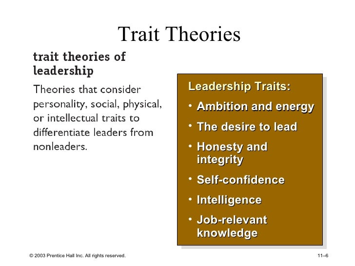 Core Leadership Theories