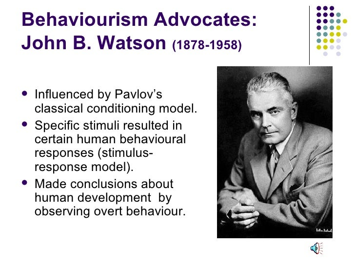 cyp 3 1 theorists john watson behaviurism And finally—and perhaps most disturbingly—is the fact that watson erroneously applied principles of behaviorism to the  rather than a john b watson free of scandal and working tirelessly .