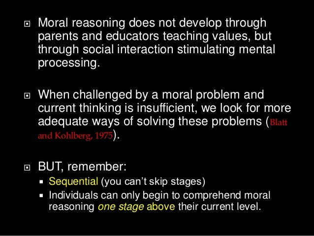 perspectives of moral development Although kohlberg's stages of moral development aren't direct parallels of piaget's stages of cognitive development by examining these two theories of development side by side children have learned that there is a difference between what is right and wrong from a moral perspective.