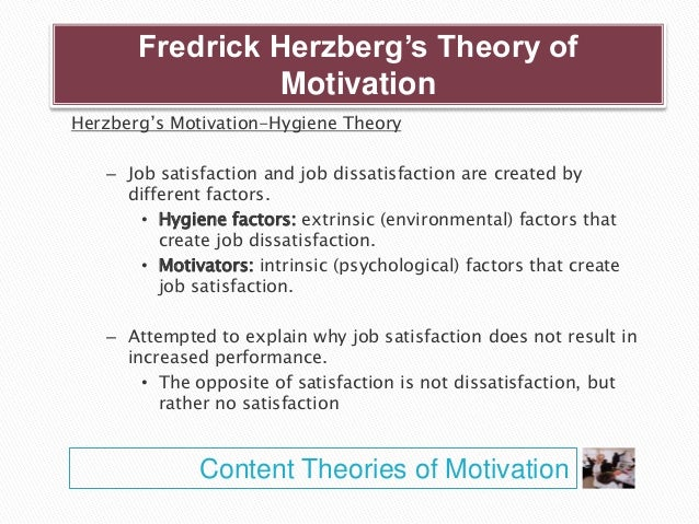 select two theories of motivation and What are the different types of personality theories  personality traits can be assessed by two miethods:  the social learning approach to motivation focuses.