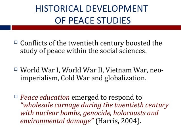 the relationship between peace conflict and development