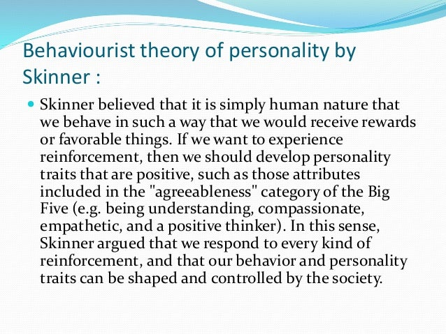 b f skinner philosophy of education Bf skinner (1920-1990)}bf skinner was one of the leading behavioral psychologists of the 20th century}he attended hamilton college with the intention of.