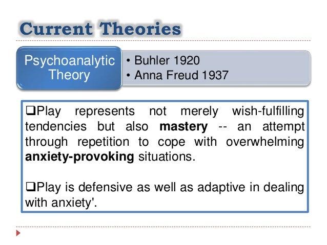 psychoanalytic theory of play
