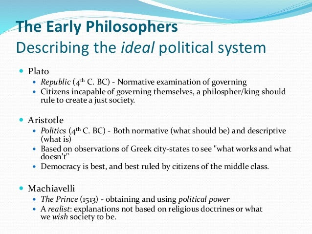 a comparison of platos and aristotles political theories Both of them had influenced the history of philosophy and political history  for  all those differences, plato and aristotle have common trait.