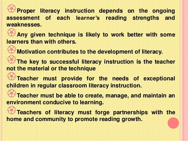 theories of reading instruction