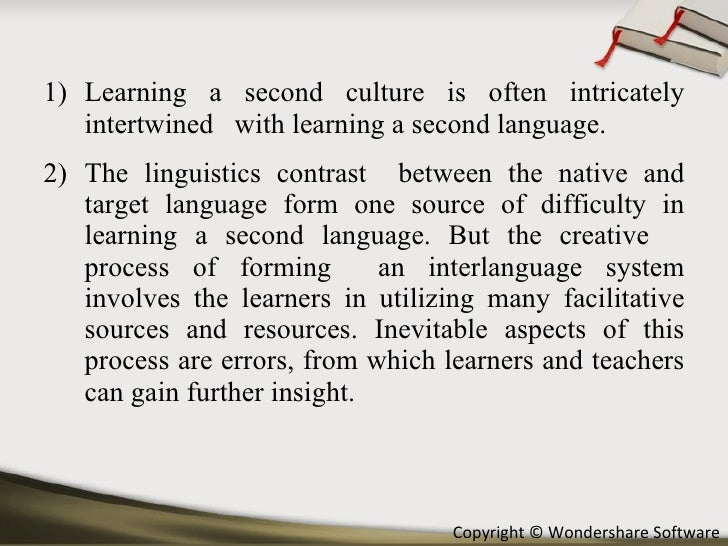 second language aquisition This textbook approaches second language acquisition from the perspective of generative linguistics roumyana slabakova reviews and discusses paradigms and findings.