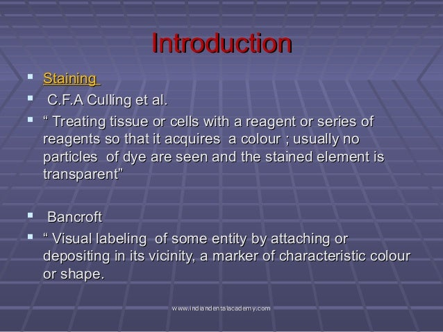 theory of staining techniques Video: the gram stain: theory and procedure  this is a delicate technique that requires a lot of practice to get down so don't get discouraged just keep staining lesson summary.