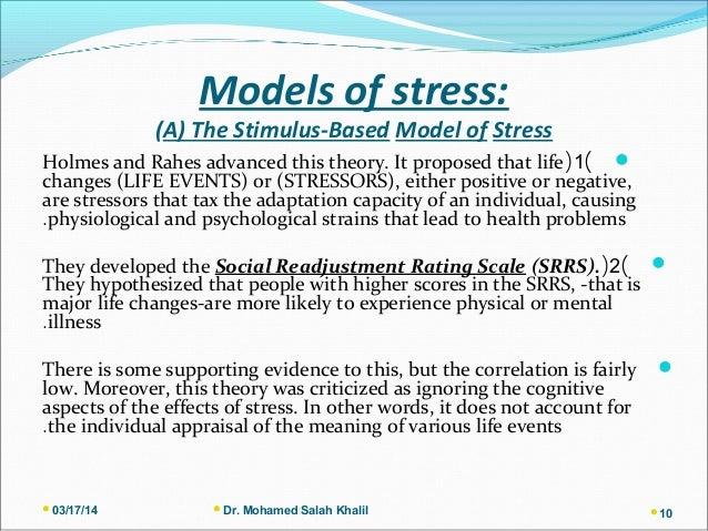 defining stress essay