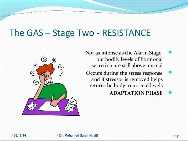 Alarm Phase Of Gas Model