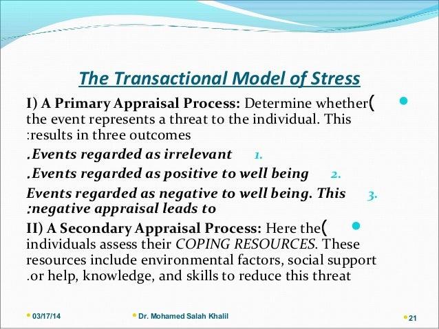 cox engineering model of stress