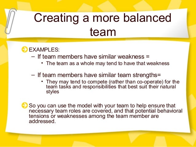 belbin team role theory pdf