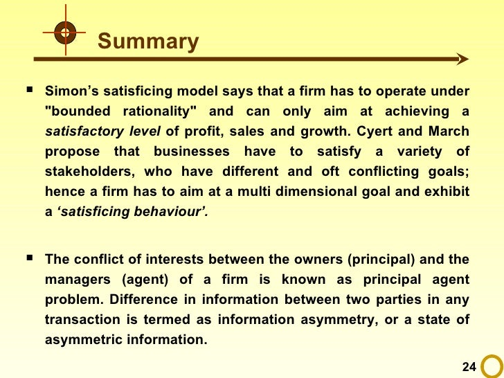 Cyert And March Model Ppt