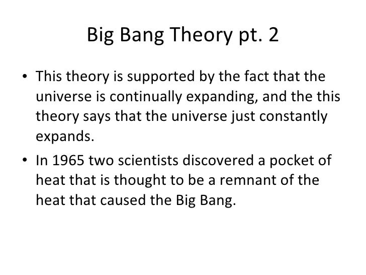 a comparison of big bang and steady state theories of creation Universe 1 astronomy 25 1 the big bang vs steady state theories was there a moment of creation astronomy 25 2 big bang vs steady state origins of the big bang theory.