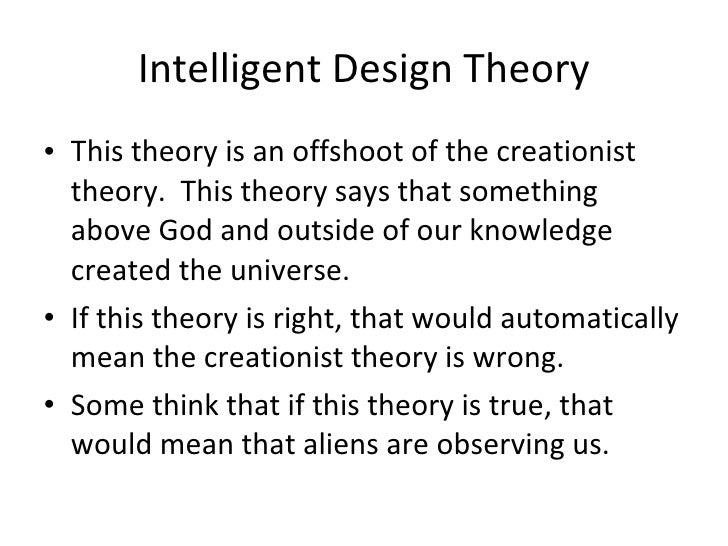 Intelligent Design: Can Science Answer the Question, Does God Exist?