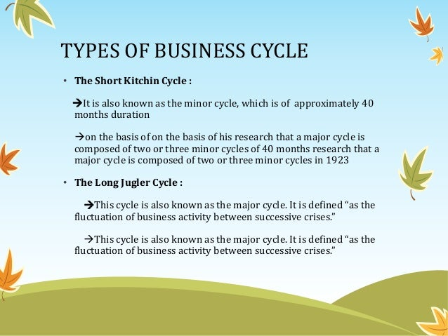 theories of trade cycle ppt