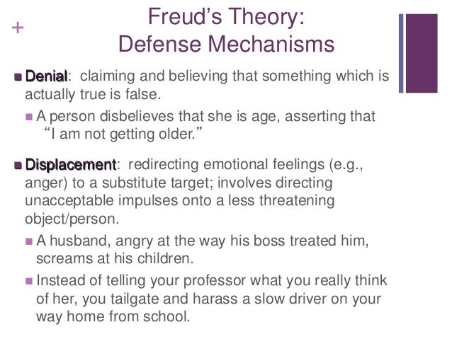 an examination of the personality theory by freud Which stage of freud's stages of psychosexual development  theories of personality  bobo doll experiment and social cognitive theory defense.