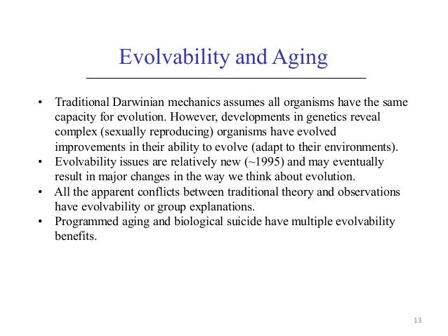 an overview of theories explaining biological evolution Evolution is change in the heritable characteristics of biological populations over  successive  to explain how new variants originate, de vries developed a  mutation theory that led to a temporary rift between those  despite the constant  introduction of new variation through mutation and gene flow, most of the  genome of a.