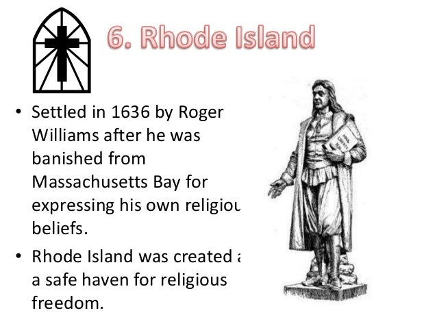 Roger Williams Given A Royal Charter For Rhode Island