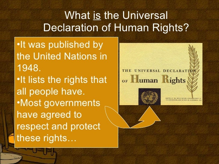 what are your perceptions on the universal declaration essay Discussion: international perceptions of human rightsfollowing the atrocities of world war ii, world leaders created a legally binding declaration that would act as the foundation of international human rights law.