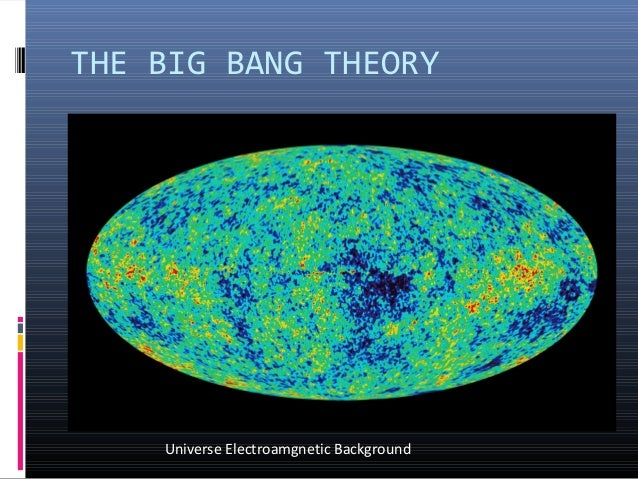 an introduction to the big bang effect and the creation of the universe The big bang theory is the prevailing cosmological model for the universe from the earliest known periods through its subsequent large-scale evolution the model describes how the universe.