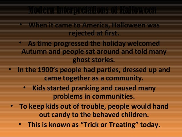 4 modern interpretations of halloween