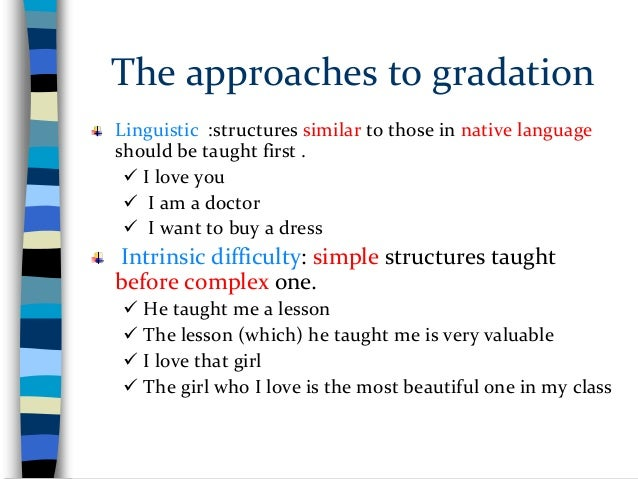 4. Assumptions underlying early approaches to Syllabus Design