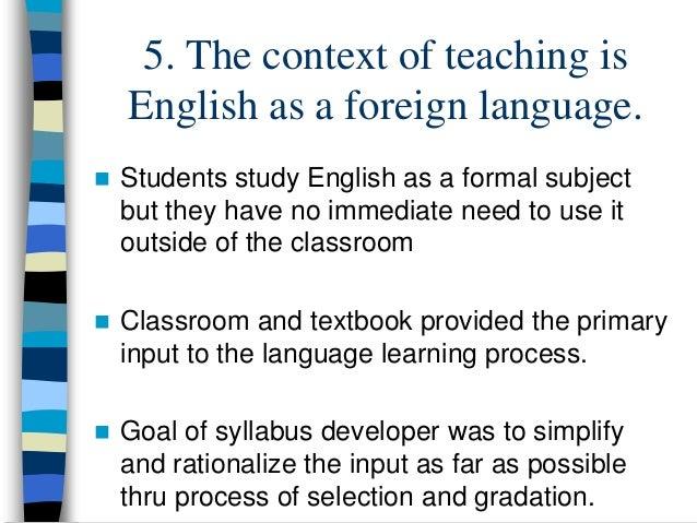 The origins of language curriculum development