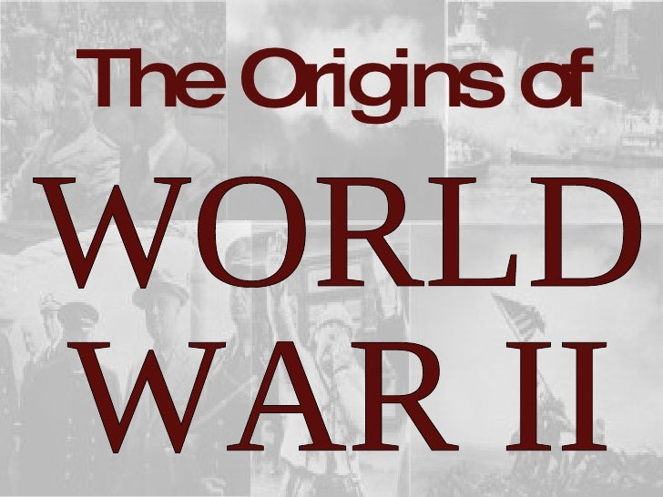 A history and overview of the world war two