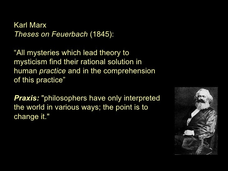 Marx Sixth Thesis On Feuerbach