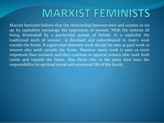 Caribbean feminism is not in full agreement with the feminist abroad as the concerns and issues of women in the caribbean ...