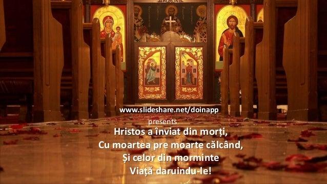 www.slideshare.net/doinappFeltámadott Krisztus halottaibol,legyözte halállal a halált,és a sírban lévőknekéletet ajándékoz...