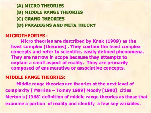 grand theory definition