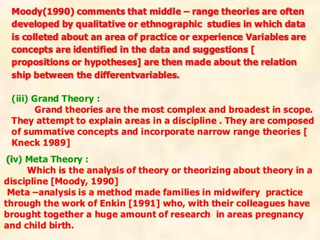 Factor isolating theory