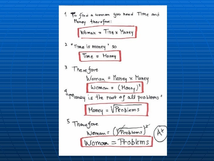 Theory Of A Woman Slide 2