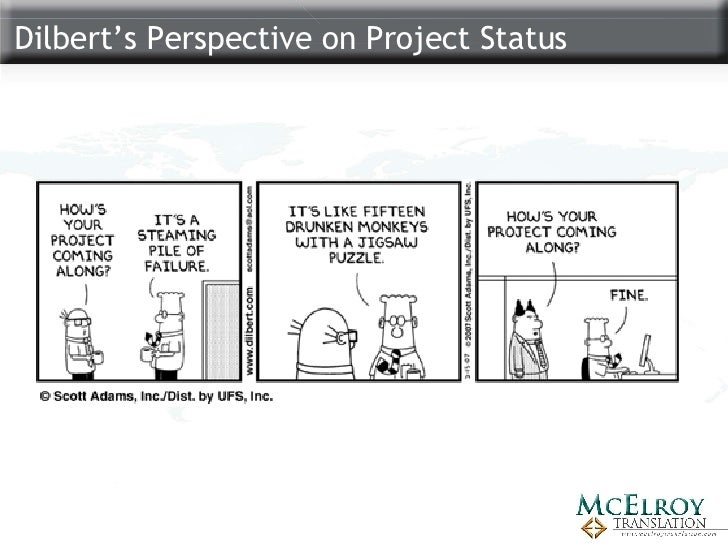 Some Dilbert project management 44 Dilbert t