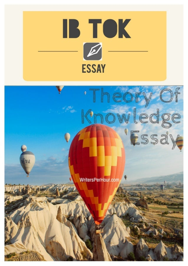 Essay knowledge
