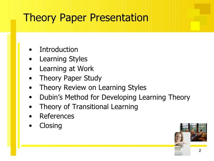 thesis on developmental theory Free essay: off the five developmental theories, i would like to describe and explain two grand theories, cognitive theory and behaviorism jean piaget, swiss biologist and proponent of cognitive theory, developed a general thesis of cognitive theory he divided the developmental process of.