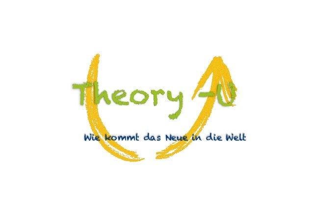 Theory -U Wie kommt das Neue in die Welt