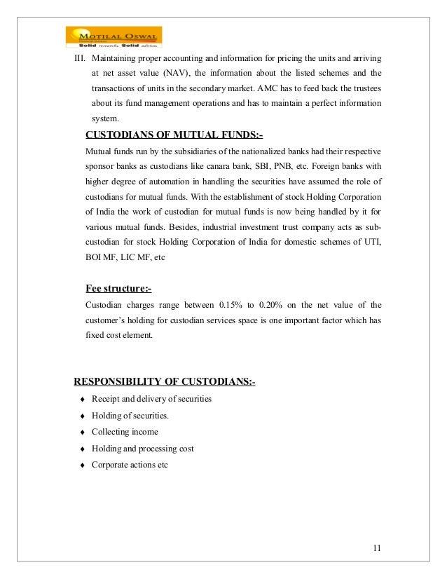 mutual fund accounting