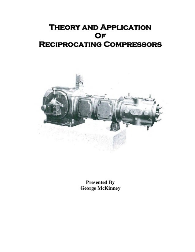 Theory and application of reciprocating compressor m 3030