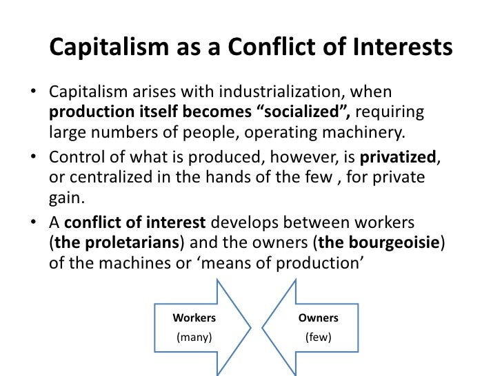 karl marx and capitalism In this lesson, we will discuss the difference between socialism and capitalism,  how karl marx believed that social class dictated one's social.