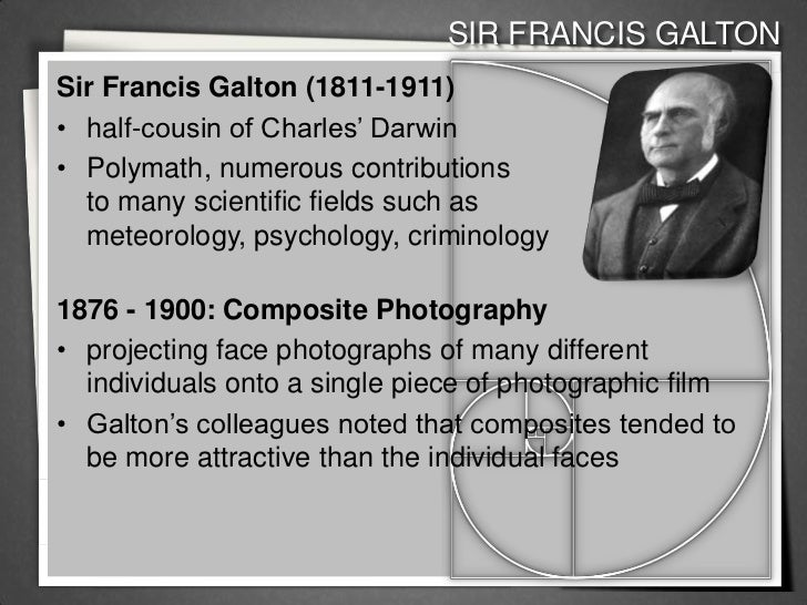 francis galton contributions to psychology