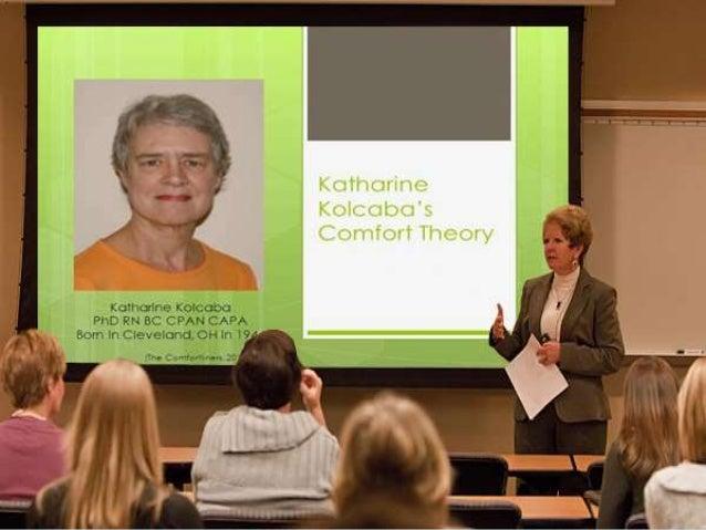 Katharine Kolcaba's Theory of Comfort