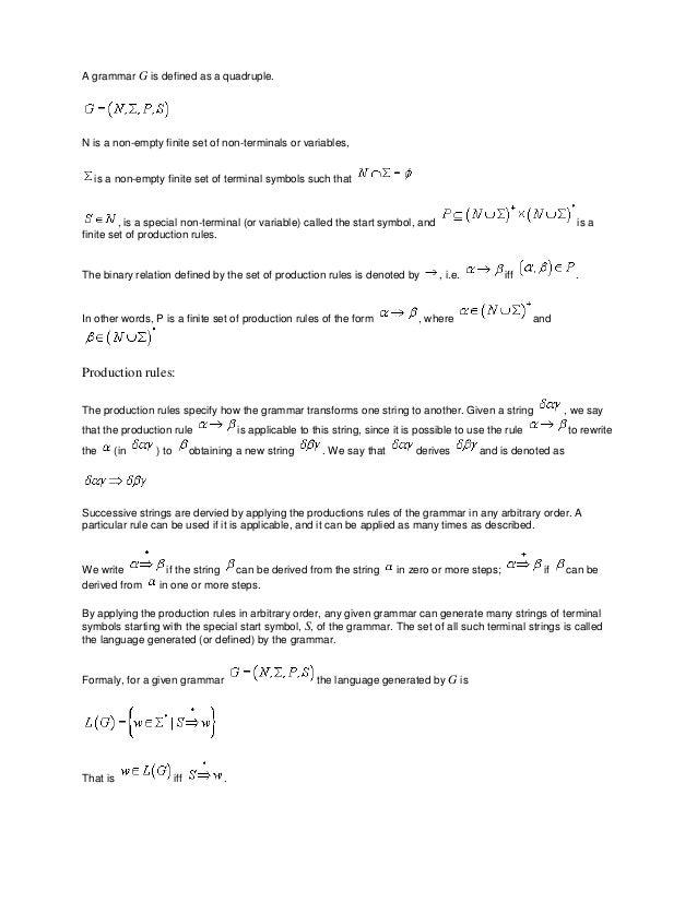 Theory Of Computation Notes Pdf
