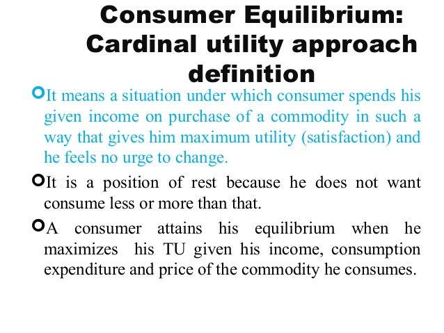 consumer equilibrium formula