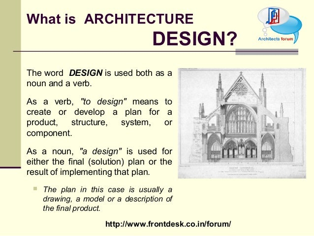 Architecture Design Theory theory of design