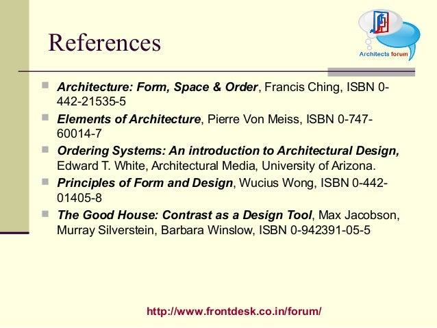 Architecture Design Theory theory of design form