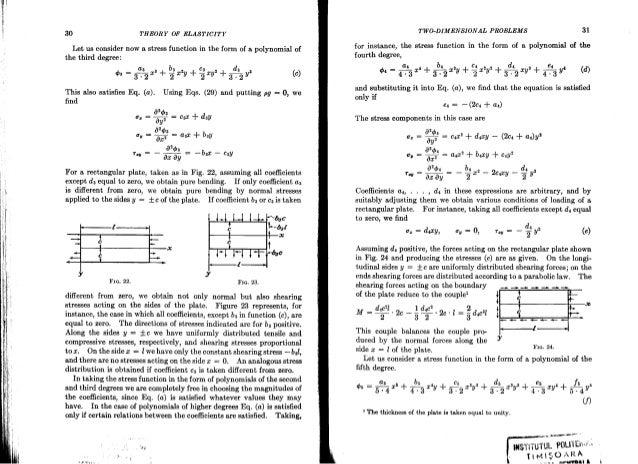 theory of elasticity timoshenko rh slideshare net Elasticity Physics Rubber Elasticity Theory