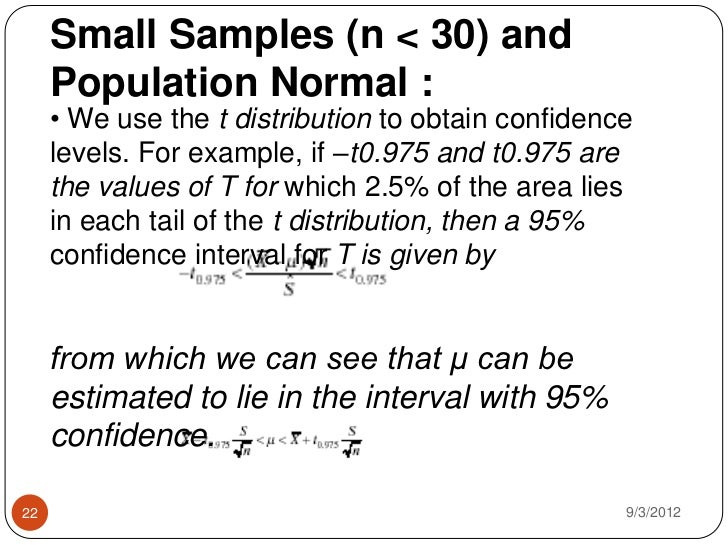 Theory of estimation