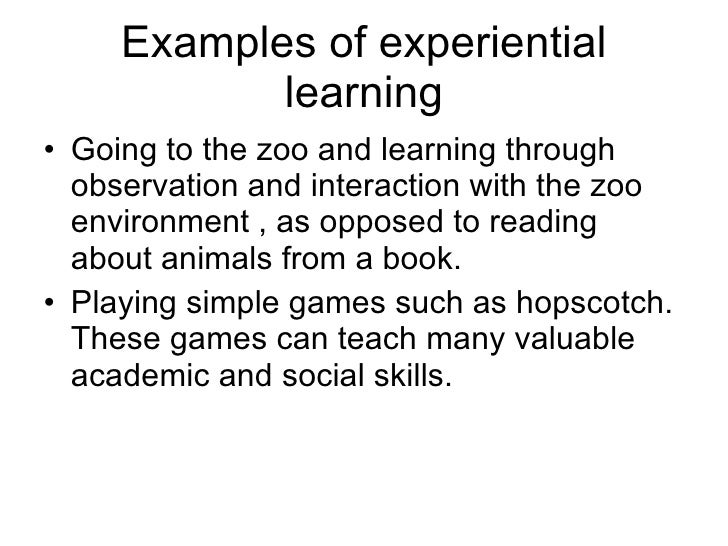Theory Of Experiential Learning Fields[1]